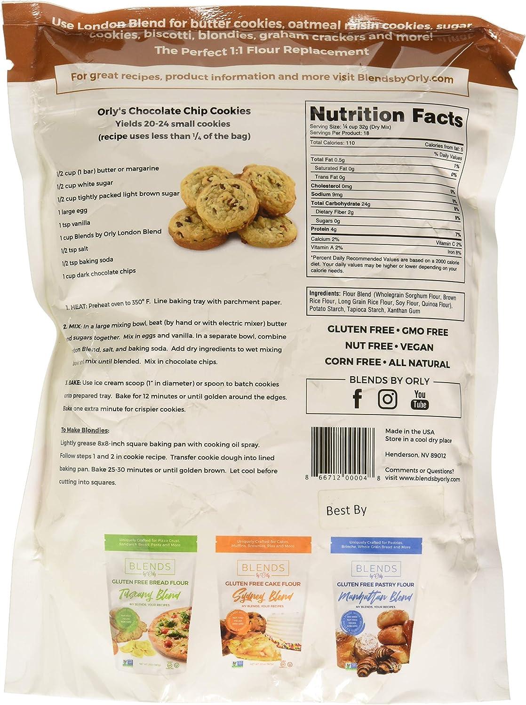 Blends By Orly Harina de Gluten mezclado personalizado Cookie ...