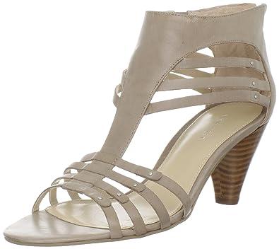 Nine West Womens Forsake T-Strap Sandal,Light Grey,8.5 ...