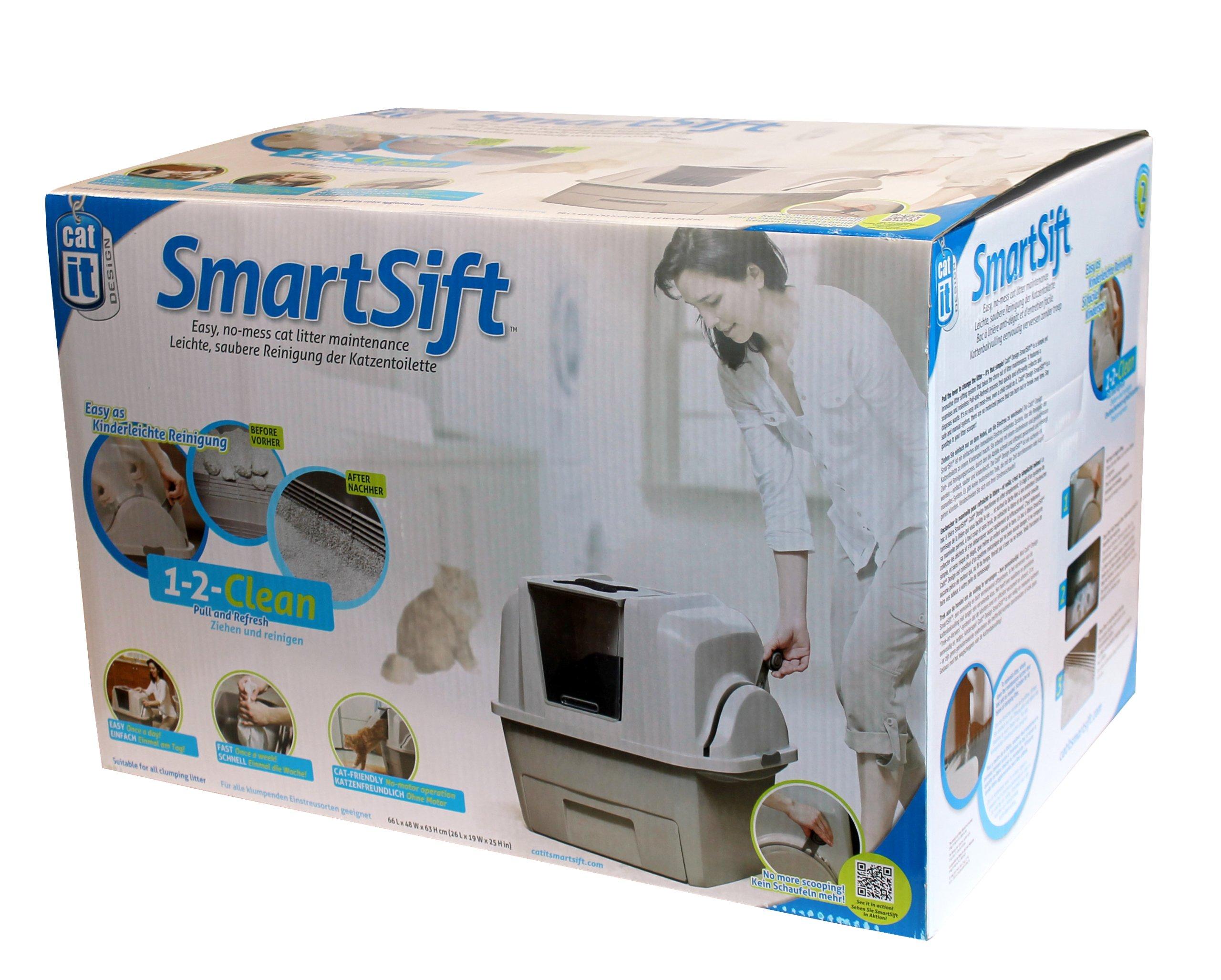 Catit Design SmartSift Sifting Cat Pan