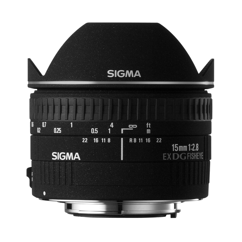 Sigma mm f  diagonal fisheye DG EX CAF Objetivo para Canon