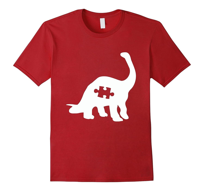 0e008f3cb654 Puzzle Dinosaur shirt – Autism Awareness shirts-TD – Teedep