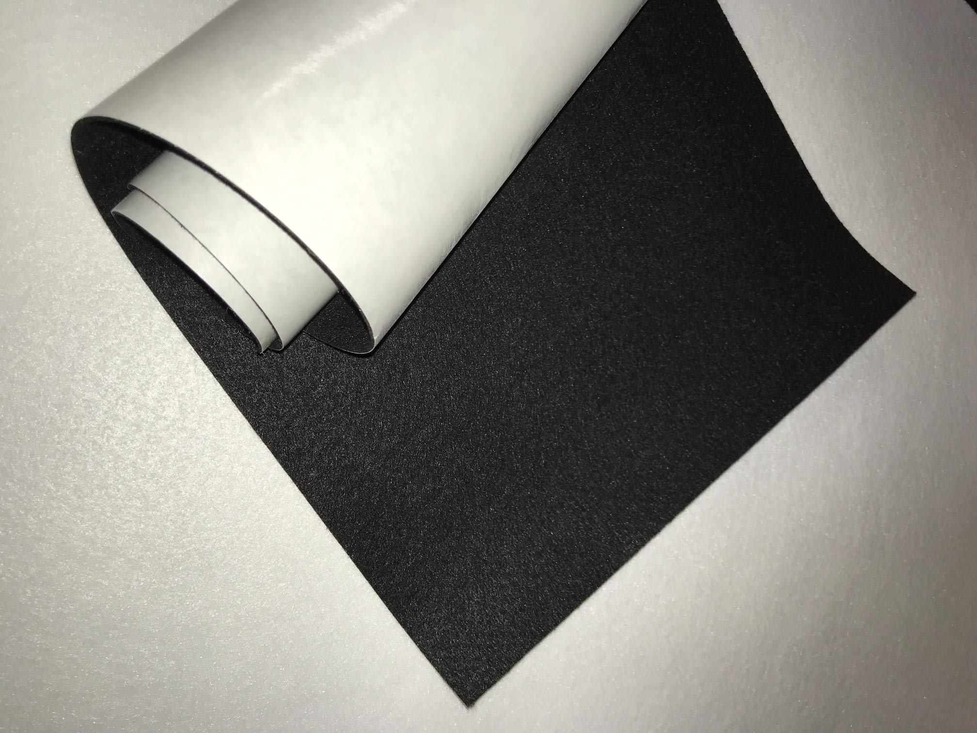 24'' X 36'' ROLL 1/16'' THICK SELF ADHESIVE PROTECTIVE FELT - No Scratch - Premium Acrylic - Peel-N-Stick Arts & Crafts Counter Tops Displays Furniture 1001 Uses!