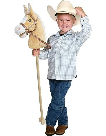 Pink Papaya caballo de juguete, Goldy, bonito caballo de juguete de peluche con sonido