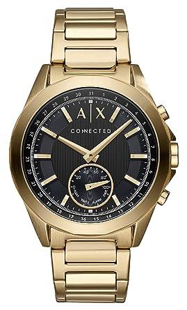 d9fb7f5a2ed9 Armani Exchange Reloj Analogico para Hombre de Cuarzo con Correa en Acero  Inoxidable AXT1008  Amazon.es  Relojes