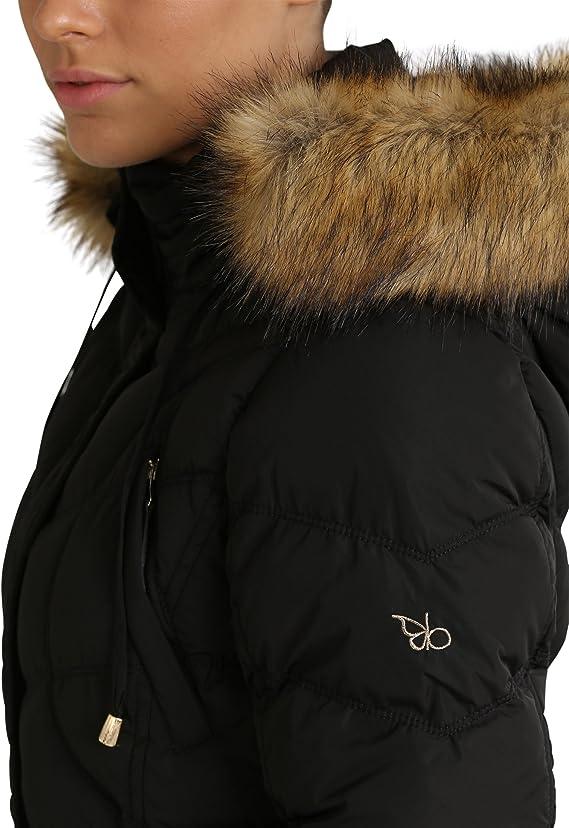 Berydale Manteau d'hiver pour femme, Nero, XS: