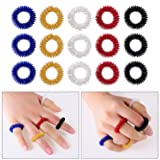 Sumind 15 Pieces Acupressure Finger Rings