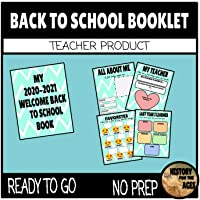 Welcome Back to School Book