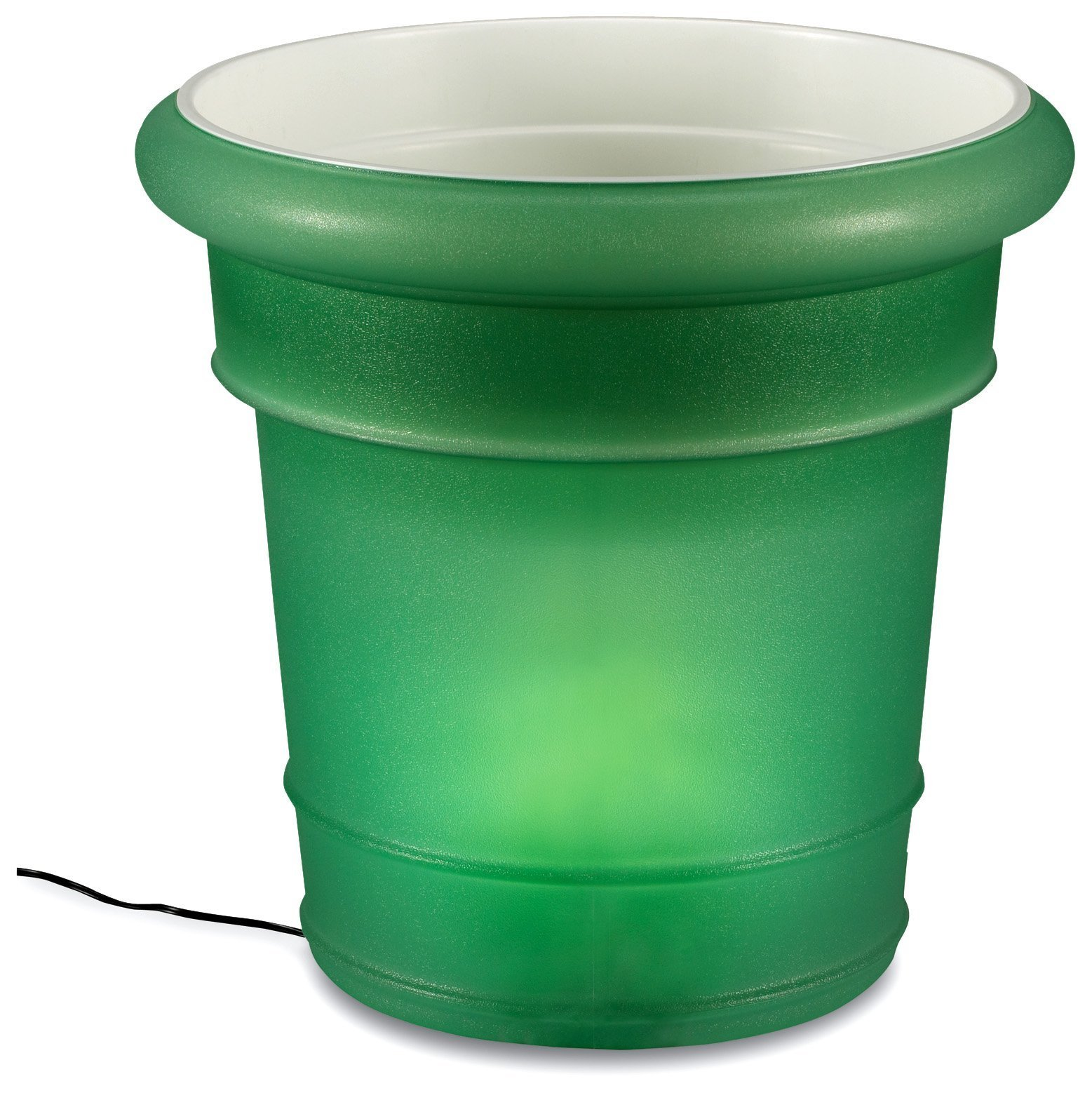 Gardenglo 884 Olive 120 Volt Planter, 20-inches Tall x 21-inches Wide