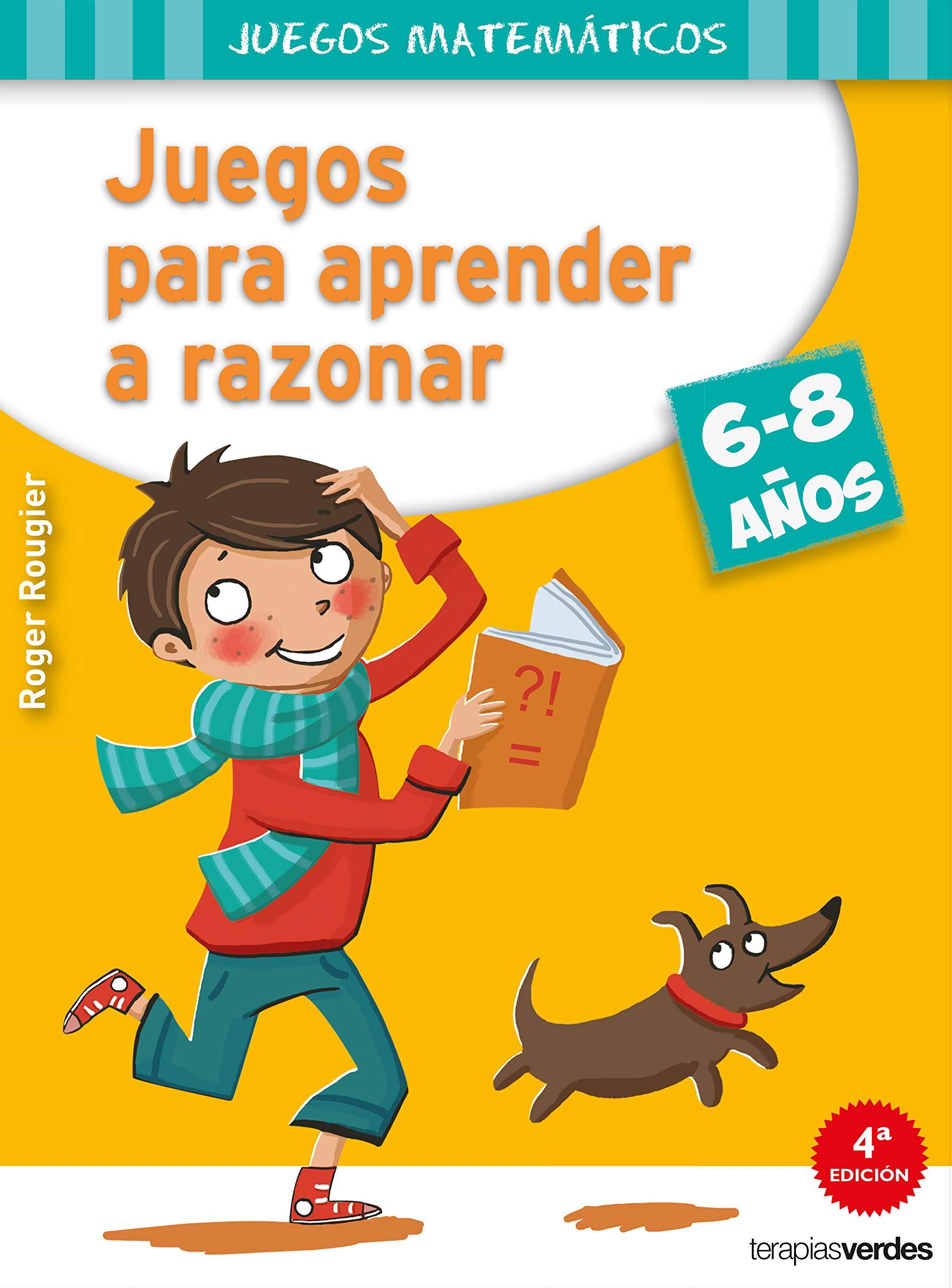 Juegos para aprender a razonar 6-8 años Terapias Juegos Didácticos:  Amazon.es: R. ROUGIER: Libros