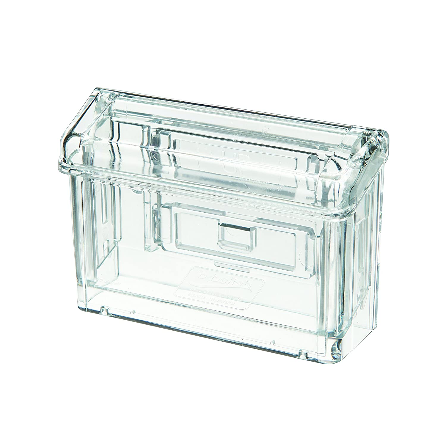 Deflect-o 70901 Grab-A-Card Outdoor Business Card Holder -2.8-Inch x4.3-Inch x1.5-Inch -1 Each -Clear S.P. Richards CA