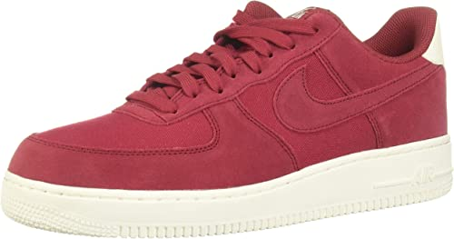 air force 1 uomo rosse e bianche