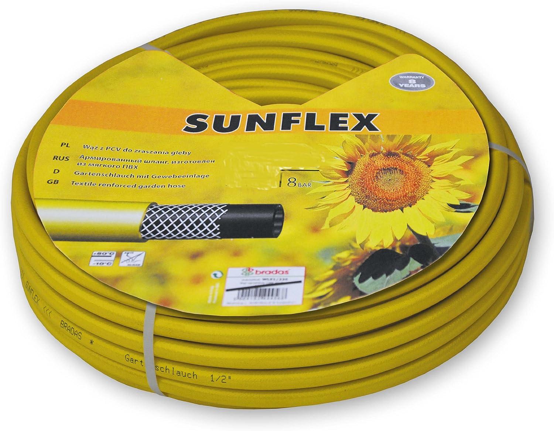 Sunflex-Manguera de jardín, 1 pulgada, 20 m, 30 m, 50 m: Amazon.es: Jardín