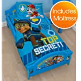Paw Patrol Spy Junior Toddler Bed Plus Foam Mattress