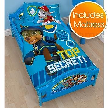 Paw Patrol Spy Junior Cama Infantil Plus colchón de Espuma: Amazon.es: Hogar