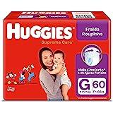 Fralda Huggies Roupinha Supreme Care G 60 Unidades