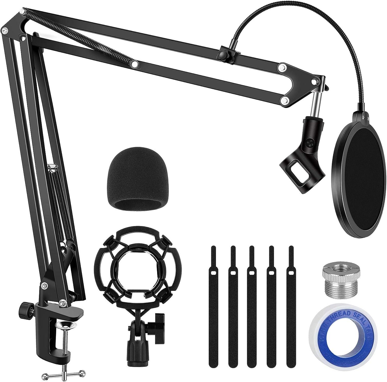 Brazo Ajustable y accesorios Para Microfono Blue Yeti