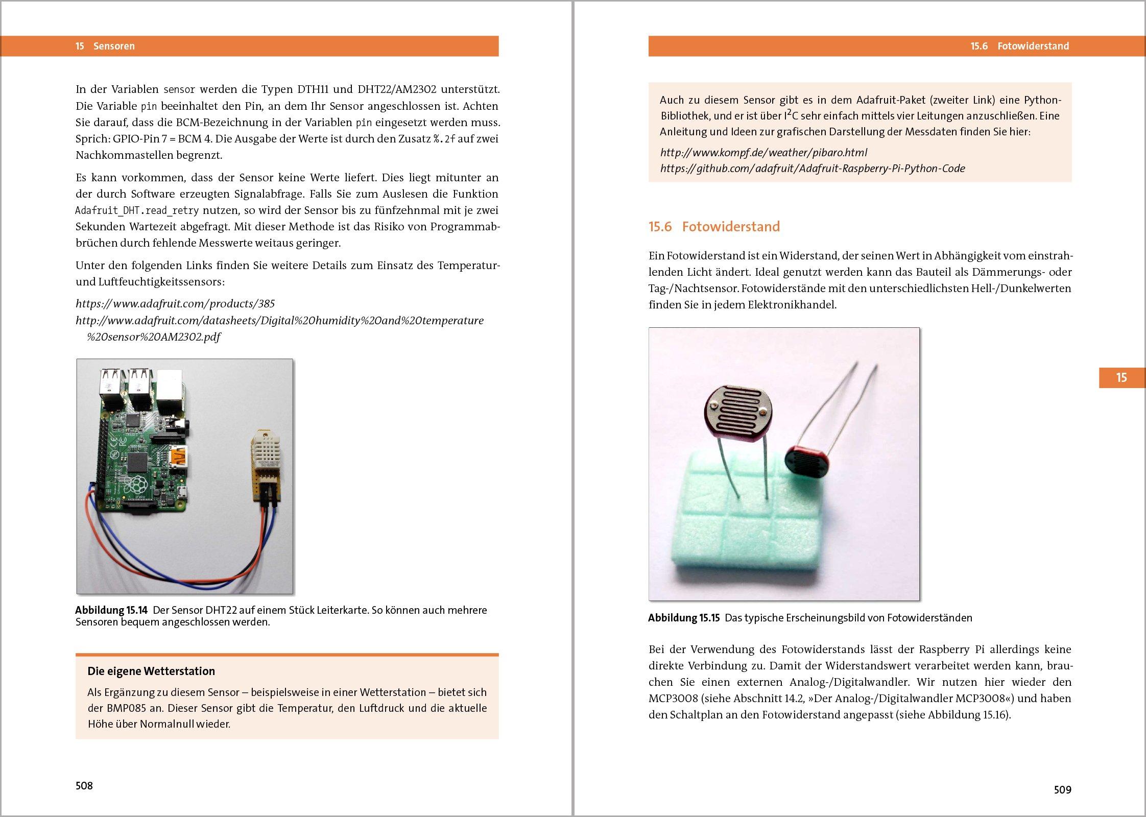 Raspberry Pi: Das umfassende Handbuch. Komplett in Farbe - inkl ...
