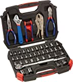 WORKPRO W003020A 52-Piece Hand Tool & Socket Set