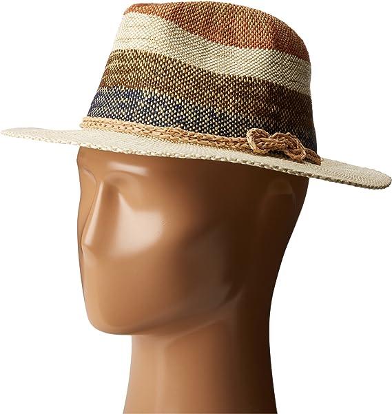 72efb2ec SCALA Women's Bangkok Toyo Safari Brown Hat at Amazon Women's ...