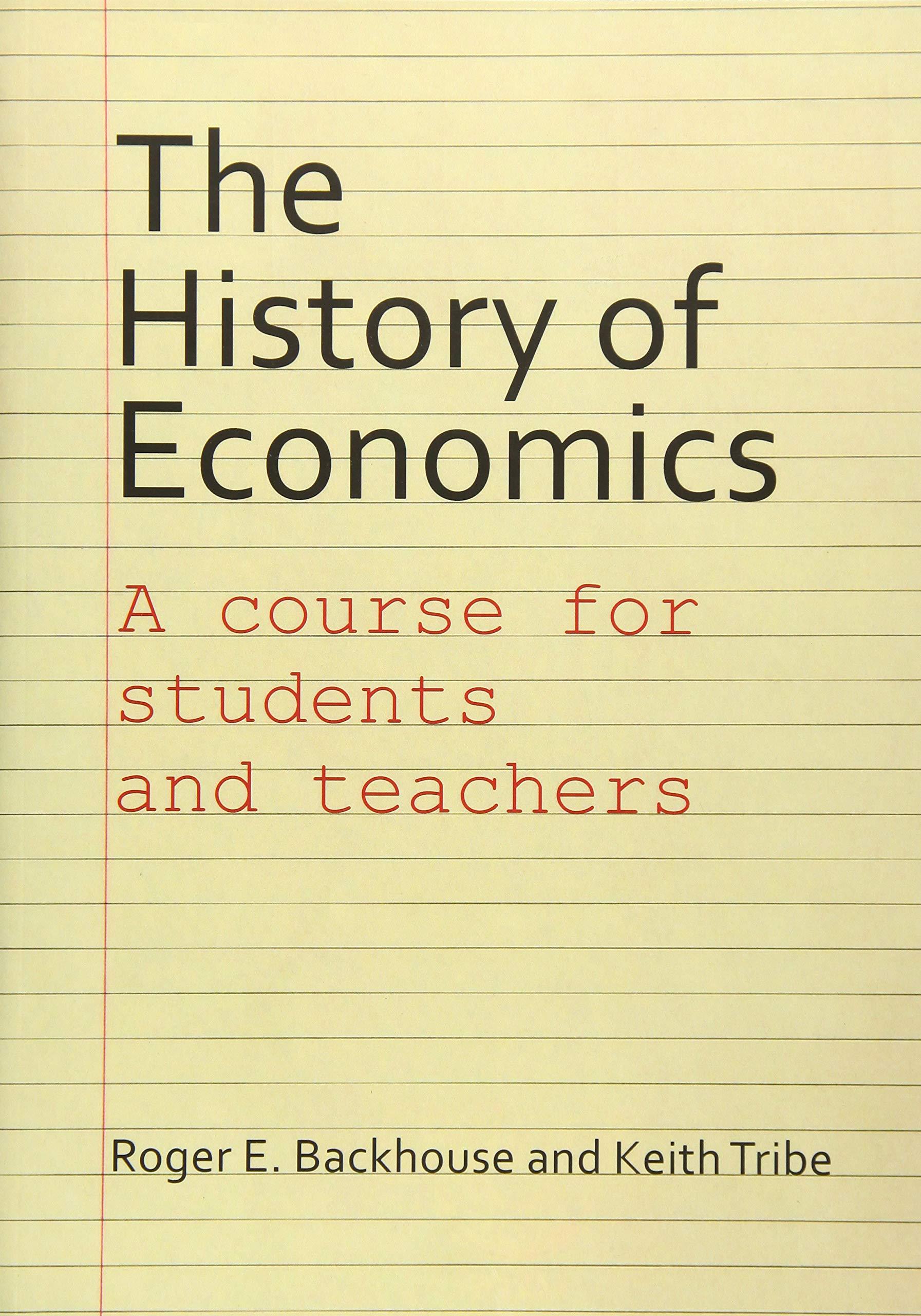 the penguin history of economics backhouse roger e