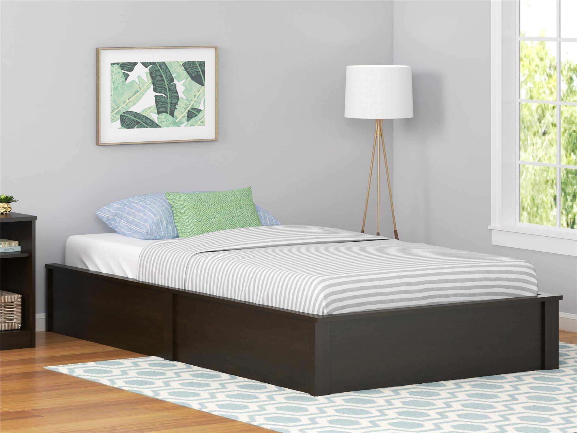Ameriwood Home Twin Platform Bed Frame, Espresso