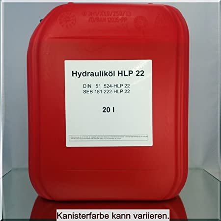 20 Liter Hydrauliköl HLP 22 | HLP22 ISO
