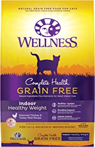 Wellness Complete Health Grain-Free Indoor Healthy Weight Chicken Recipe Dry Cat Food