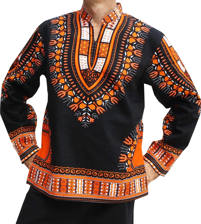 【国内在庫】 RaanPahMuang Black SHIRT レディース on B07HZ2Y5GD Large|Orange on Black Large Orange on Black Large, 桜川村:44109d92 --- a0267596.xsph.ru