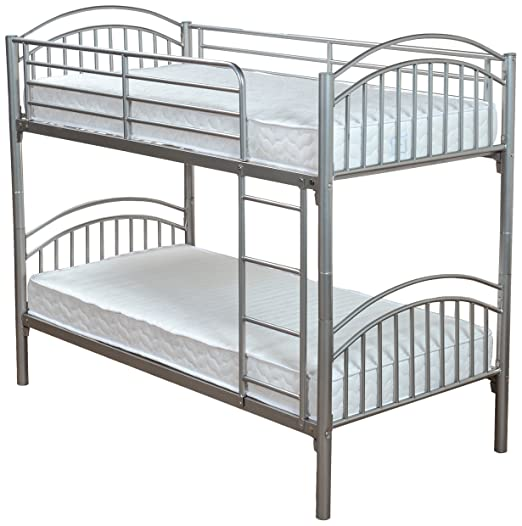 Humza Amani Lynton Metal Bunk with 2 Economy Coil Sprung