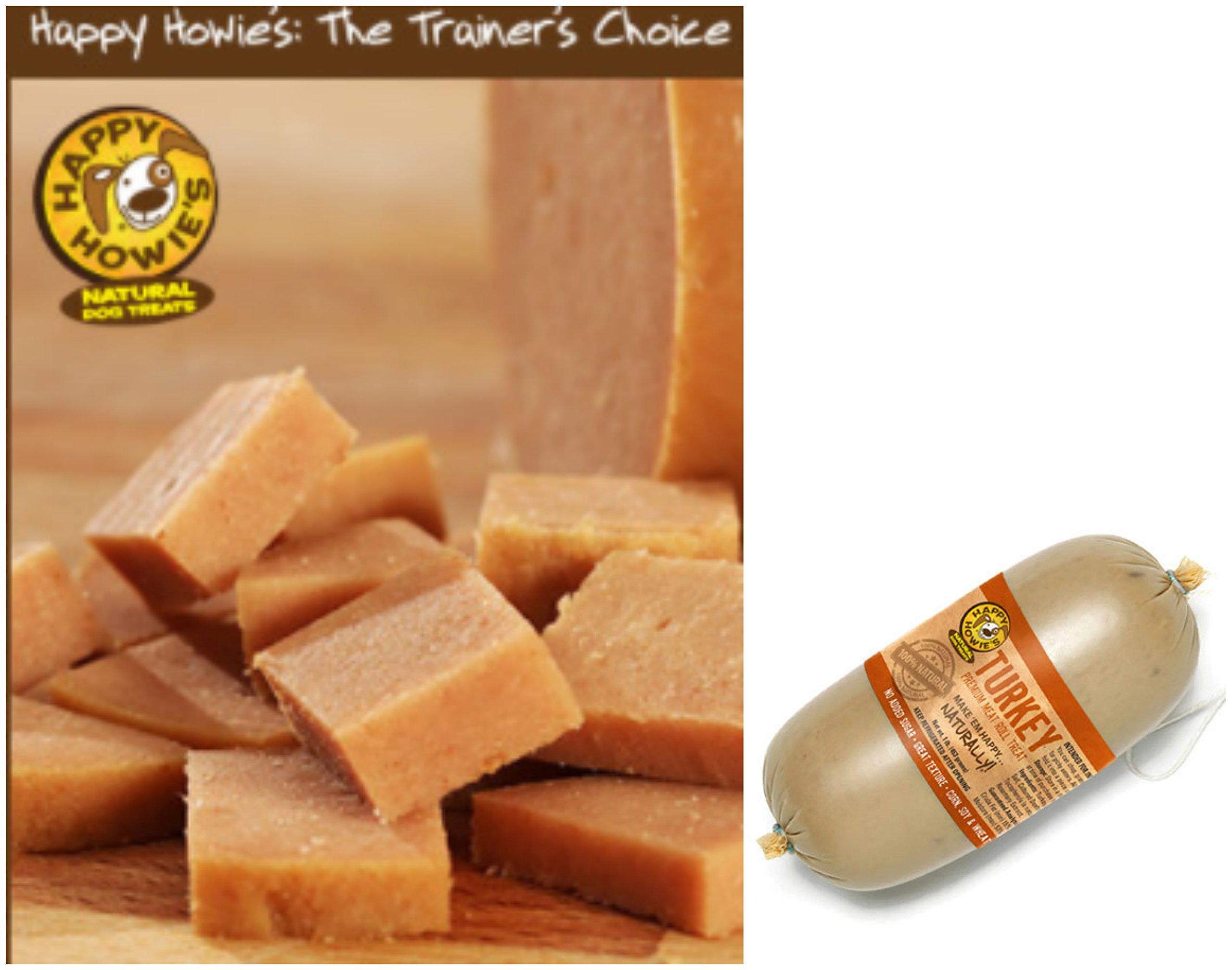 HAPPY HOWIE Natural Gourmet Meat Rolls Bundle Packs (Beef-Turkey-Lamb) 3