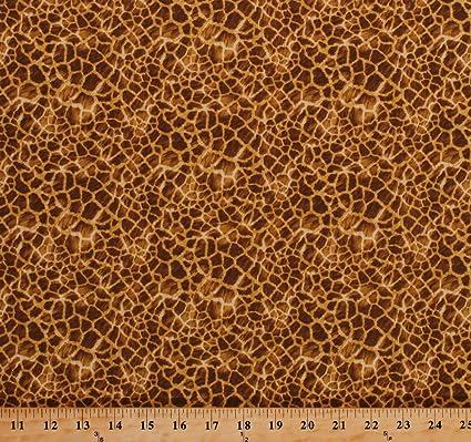 amazon com cotton giraffe animal skin print design spots african