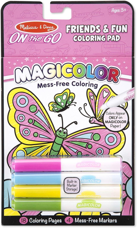 Melissa & Doug Magicolor Coloring Pad - Friendship And Fun