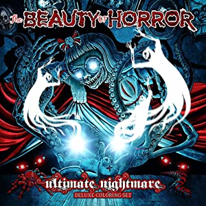 The Beauty of Horror: Ultimate Nightmare - Deluxe Coloring Set
