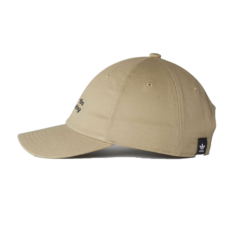 dba1558d adidas Originals Thanks For Nothing Men's Strapback Hat Cap Khaki/Black  br3873 - Black -: Amazon.co.uk: Clothing