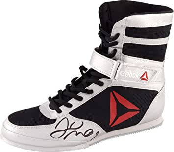 reebok boxing boots. floyd mayweather autographed reebok boxing shoe - fanatics authentic certified equipment boots