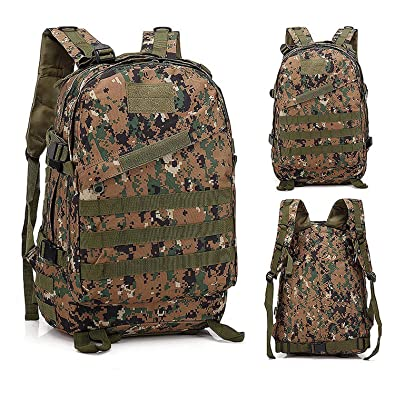 0d1b723506f4 Amazon.com: 1000D Nylon Tactical Backpack Military Waterproof Army ...