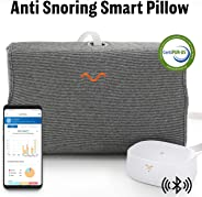 Anti Snore Pillow with Memory Foam, Non-Intrusive, Anti Snoring Device, Anti Snoring Pillow, Snoring Solution - Motion Pillow