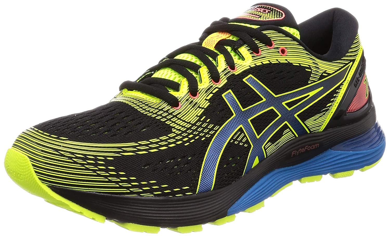 Noir (noir Safety jaune 001) 39,5 EU ASICS Gel-Nimbus 21 SP, Chaussures de FonctionneHommest Homme