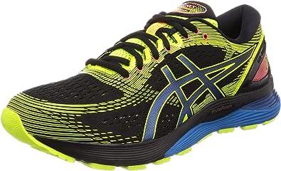 Asics Gel-Nimbus 21 SP, Zapatillas de Running Hombre, Negro (Black/Safety Yellow 001), 45 EU: Amazon.es: Zapatos y complementos