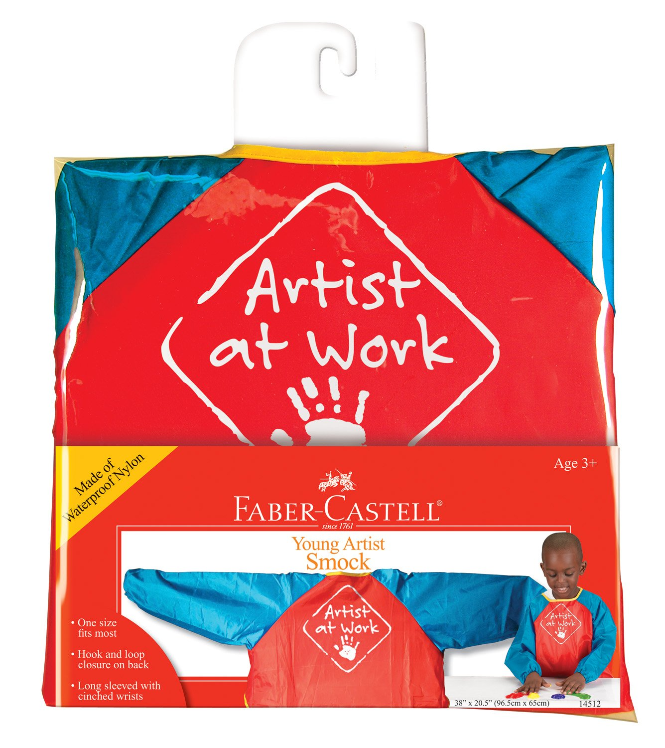Faber-Castell Young Artist Smock Washable Art Smock for Kids Faber Castell 14512