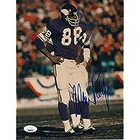 $95 » Alan Page HOF Minnesota Signed/Autographed 8x10 Photo JSA 158547