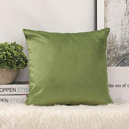 Fabulous Phantoscope Decorative New Luxury Series Green Soft Velvet Throw Pillow Case Cushion Cover 18 X 18 45Cm X 45Cm Alphanode Cool Chair Designs And Ideas Alphanodeonline
