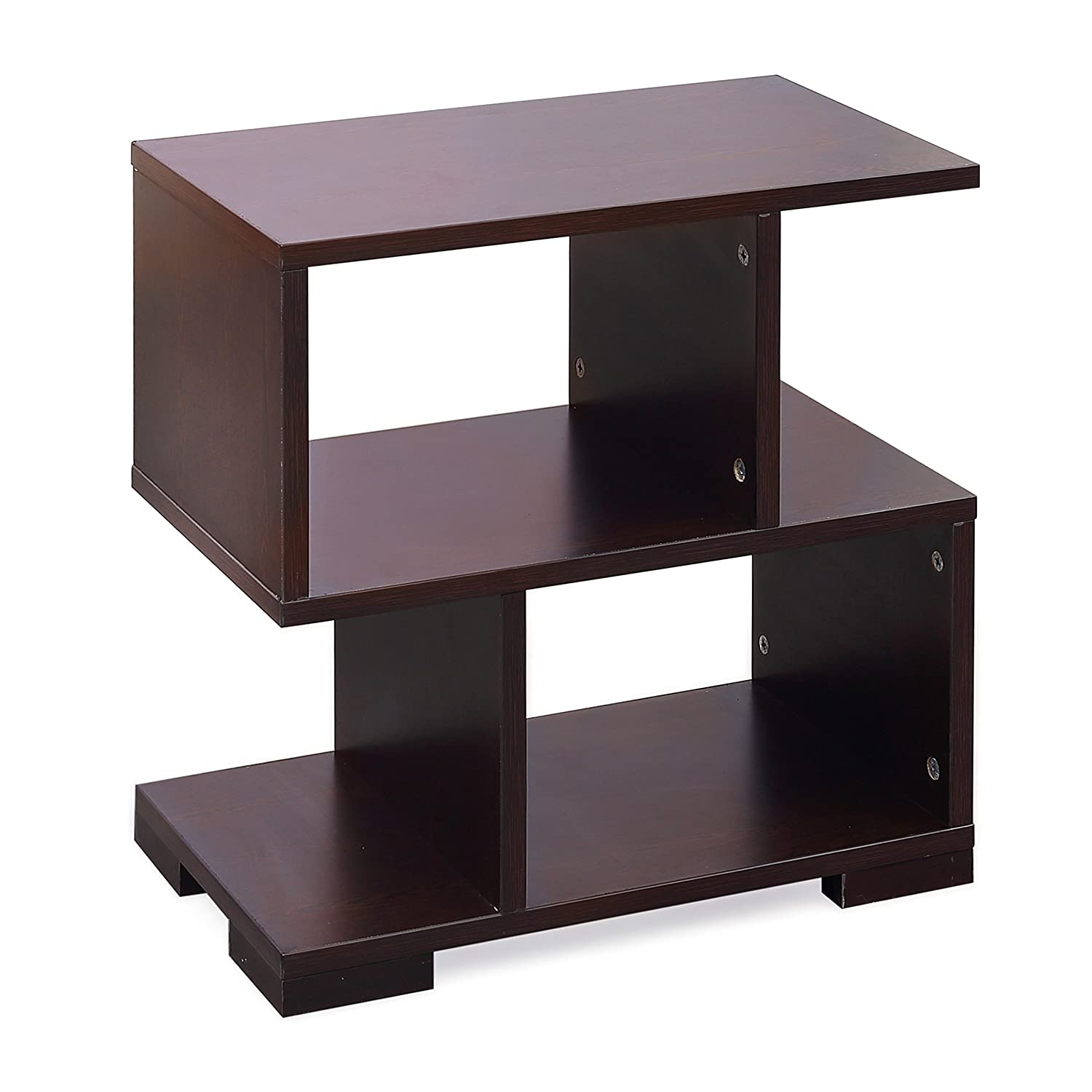 forzza daniel side table (matt finish wenge) amazonin home  - forzza daniel side table (matt finish wenge) amazonin home  kitchen