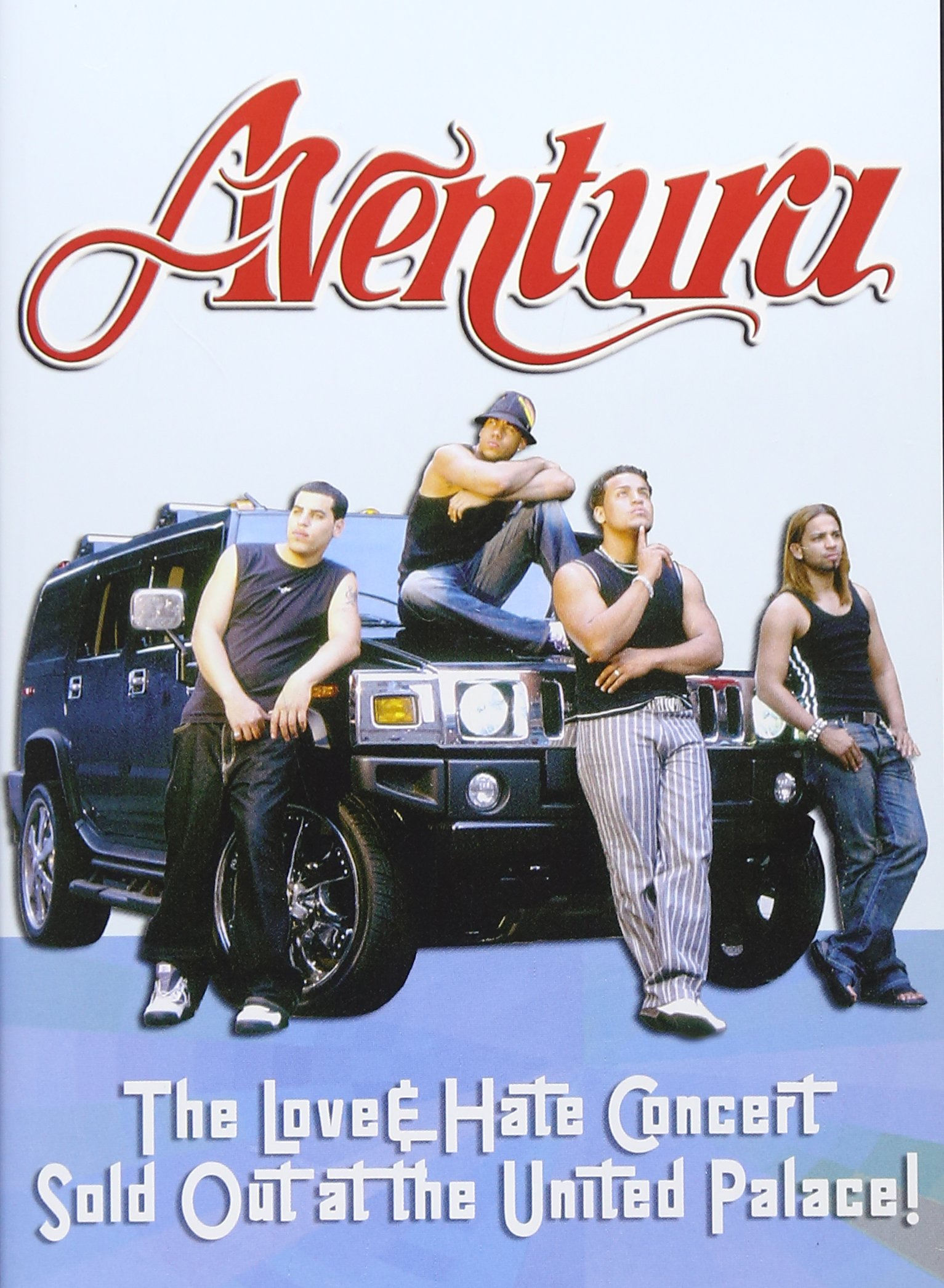 DVD : Aventura - Love And Hate Concert: Sold Out At The United Palace! (DVD)