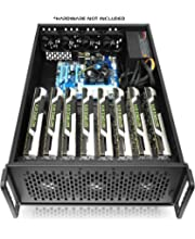 Hydra II Rev  B 8 GPU 6U Case for Learning/Mining/Rendering Servers