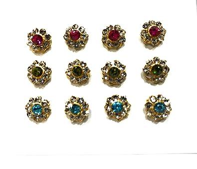 f635a2e4e Gold Plated Nose pin in Screw   Tar  Amazon.in  Jewellery