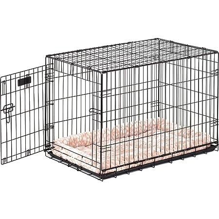 Precision Pet ProValu Single-Door Dog Crate in Black