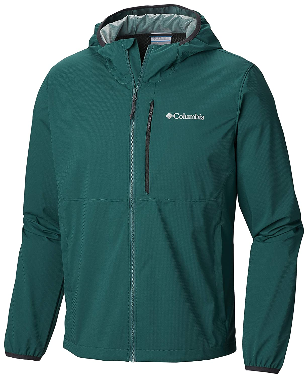 Pine Green L Columbia Men's Mystic Trail Athletic-Shell-Jackets