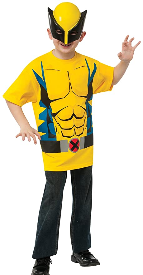 c7ffdb6b Rubies Marvel Universe Classic Collection Wolverine Costume T-Shirt With  Mask Child Large Sc 1 St Amazon.com