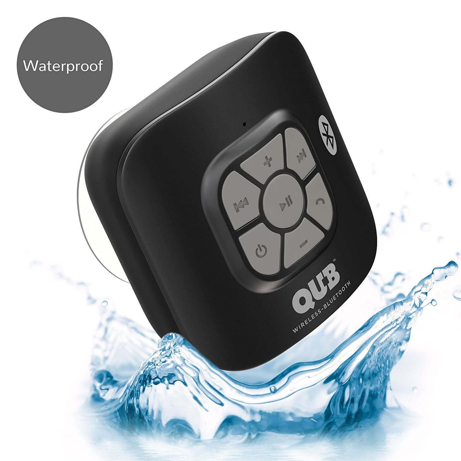 AquaAudio Cubo – Portable Waterproof Bluetooth Speaker